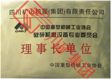 重机协会破磨专委会理事长证书